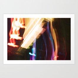 NYC Lights Art Print