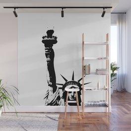 Lady Liberty Wall Mural