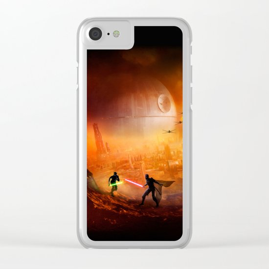 STAR . WARS Clear iPhone Case
