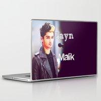 zayn malik Laptop & iPad Skins featuring Zayn Malik by Marianna