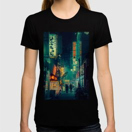 Tokyo Nights / Memories of Green / Blade Runner Vibes / Cyberpunk / Liam Wong T-shirt