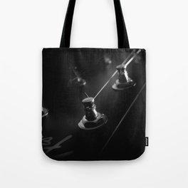 Six String Noir Tote Bag