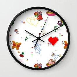 Favorites Wall Clock