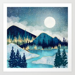 Morning Stars Art Print