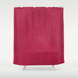 Modern girly magenta pink faux leather pattern Shower Curtain