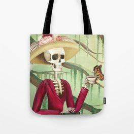 Jane Austen La Catrina Tote Bag