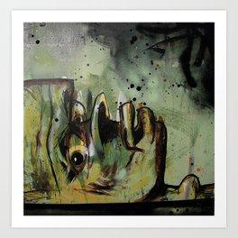 Despairage Art Print