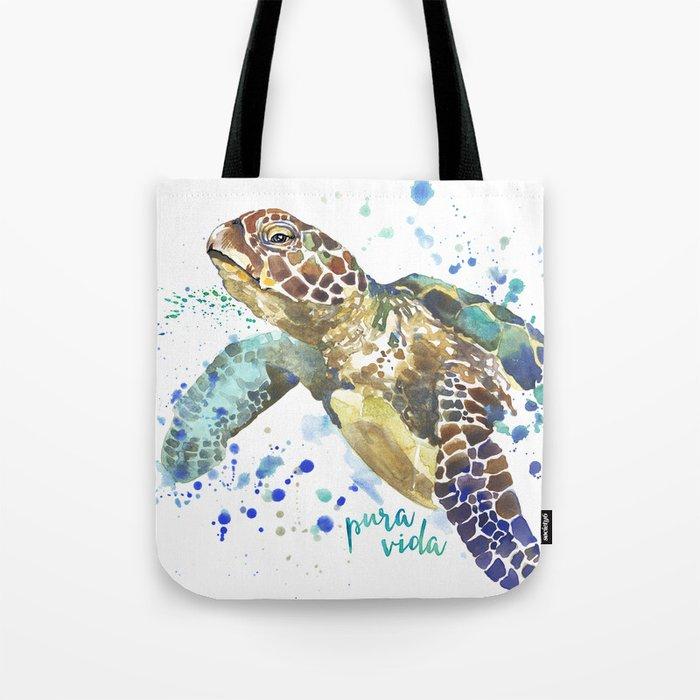 VIDA Tote Bag - WATER COLORS by VIDA