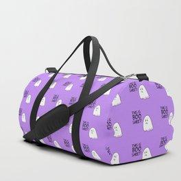 Grumpy Ghost Duffle Bag
