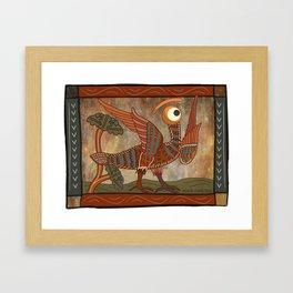 harpy glance Framed Art Print