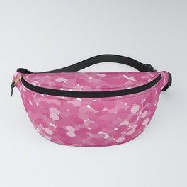 Pink Yarrow Polka Dot Bubbles Fanny Pack