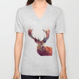Red Deer // Stag Unisex V-Neck
