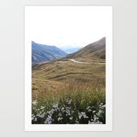 new zealand Art Prints featuring New Zealand by Fred Postles