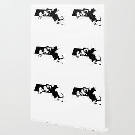 Massachussetts Morgan Figure Horse Lover Black Wallpaper