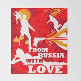 James Bond Golden Era Series :: From Russia with Love Throw Blanket