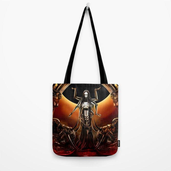 Black Sun Rising Tote Bag