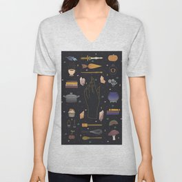 Baking Witch Starter Kit Unisex V-Neck
