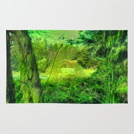 Temperate Jungle Home Rug