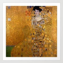 The Woman In Gold Bloch-Bauer I by Gustav Klimt Art Print