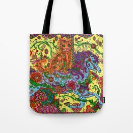 Purrfect Harmony Tote Bag