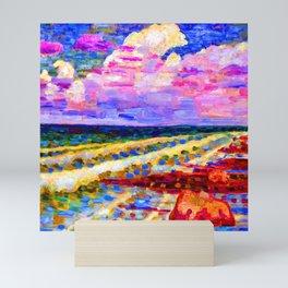Konrad Magi Coastline of Saaremaa Mini Art Print
