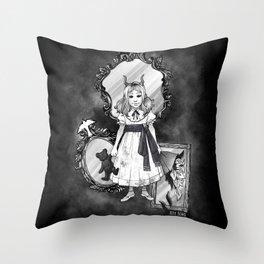 Mirror Ghost Throw Pillow