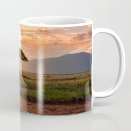 Tsavo National Park, East Kenya, Africa. Coffee Mug