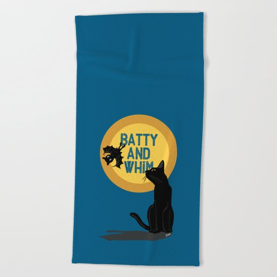 Batty and Whim Beach Towel