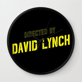 directed by David Lynch Wall Clock