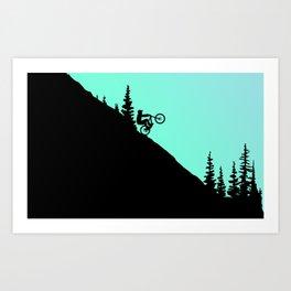 MTB 2colors Art Print