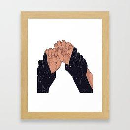 TIGHTLY Framed Art Print