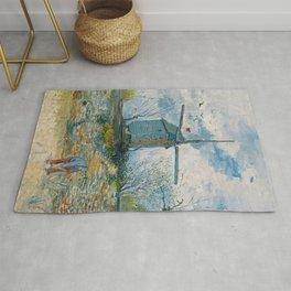 Vincent van Gogh - Le Moulin de la Galette Rug