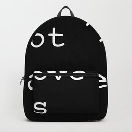 Love Is Not Cancelled Cute and Funny Valentine's Day Gift Backpack
