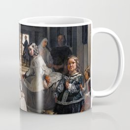 Diego Velazquez, Las Meninas, 1656 Masterpiece, Wall Art, Prints, Posters, Tshirts, Men, Women, Kids Coffee Mug