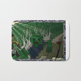 Shingeki no Minecraft (Minecraft into Shock/Minecraft Advance) - Attack on Minecraft Bath Mat