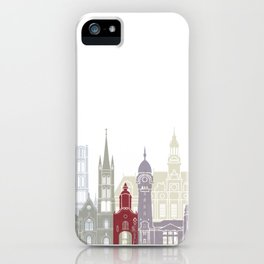 Limoges skyline poster iPhone Case