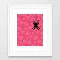 spider Framed Art Prints featuring Spider by Mr and Mrs Quirynen