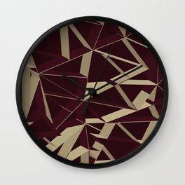 3D Futuristic GEO VIII Wall Clock