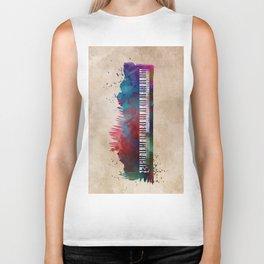 keyboard art #keyboard #piano Biker Tank