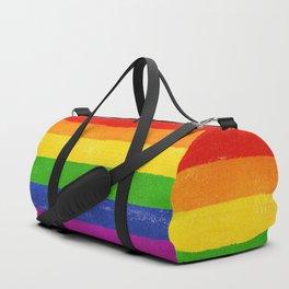 Gay Pride Flag Duffle Bag