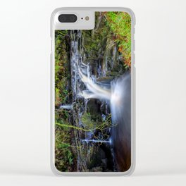 Woodland Falls Clear iPhone Case