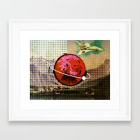science Framed Art Prints featuring Science by Trey Crim