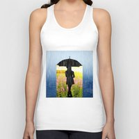 umbrella Tank Tops featuring Umbrella by Cs025