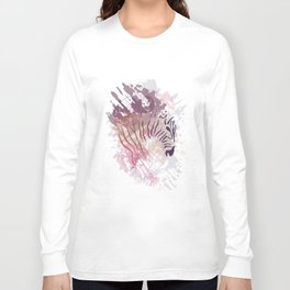 Wild Purple Long Sleeve T-shirt