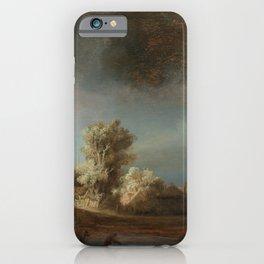Rembrandt - The Stone Bridge iPhone Case
