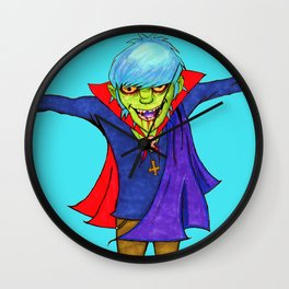 Count Murdoc Wall Clock