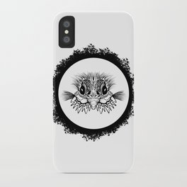 Half Bird iPhone Case