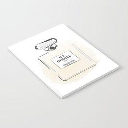 Beige Perfume 3 Notebook