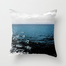 Faded Skies Throw Pillow