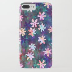 Montauk Daisy - Night Slim Case iPhone 7 Plus